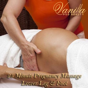 Lower Leg and Foot Pregnancy Masage
