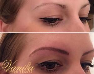 Natural Hair Stroke Eyebrows