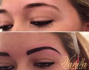 Semi Permanent Powdered Eyebrows