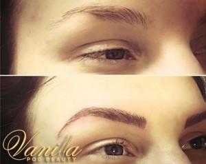 Natural Looking Tattooed Eyebrows