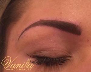 Semi perm Hair Stroke Eyebrows2