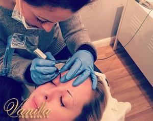 Emma Hopper Tattooing Eyebrows