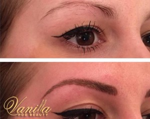 Hair Stroke Semi Perm Eyebrows