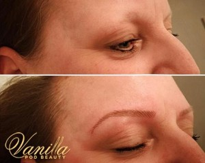 Hair Stroked Semi Permanent Brows